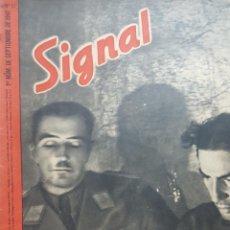 Coleccionismo de Revistas y Periódicos: REVISTA SIGNAL.- SEPTIEMBRE 1941.- NUMERO 17.- 48 PAGINAS. Lote 148831630