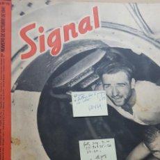 Coleccionismo de Revistas y Periódicos: REVISTA SIGNAL.- OCTUBRE 1941.- NUMERO 19.- 48 PAGINAS.- FALTAN 8 PAGINAS. Lote 148832246