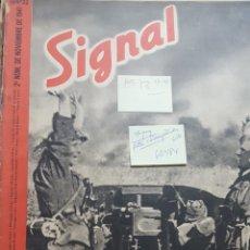 Coleccionismo de Revistas y Periódicos: REVISTA SIGNAL.- NOVIEMBRE 1941.- NUMERO 22.- 48 PAGINAS.- FALTAN 2 ULTIMAS PAGINAS. Lote 148832606
