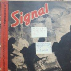 Coleccionismo de Revistas y Periódicos: REVISTA SIGNAL.- AGOSTO 1941.- NUMERO 15.- 48 PAGINAS.- FALTAN 8 PAGINAS.- MAL ESTADO CONTRAPORTADA. Lote 148833454