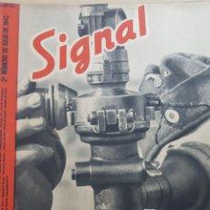 Coleccionismo de Revistas y Periódicos: REVISTA SIGNAL.- (PROCEDE DE ENCUADERNACIÒN).- JULIO 1942.- NUMERO 14.- 40 PAGINAS.- . Lote 148836730