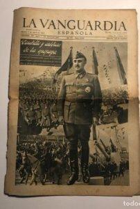 La Vanguardia 1941 Caudillo y artífices de la epopeya