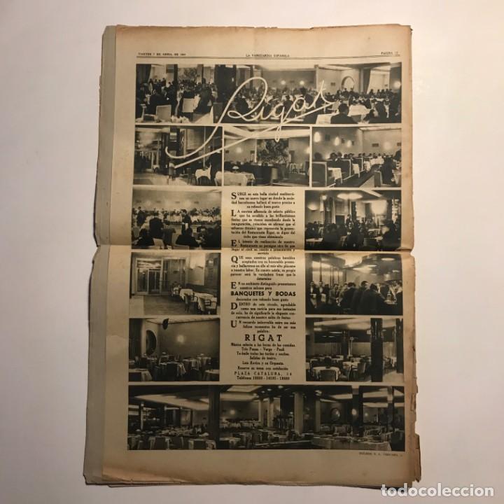 Coleccionismo de Revistas y Periódicos: La Vanguardia 1941 Caudillo y artífices de la epopeya - Foto 2 - 148844542