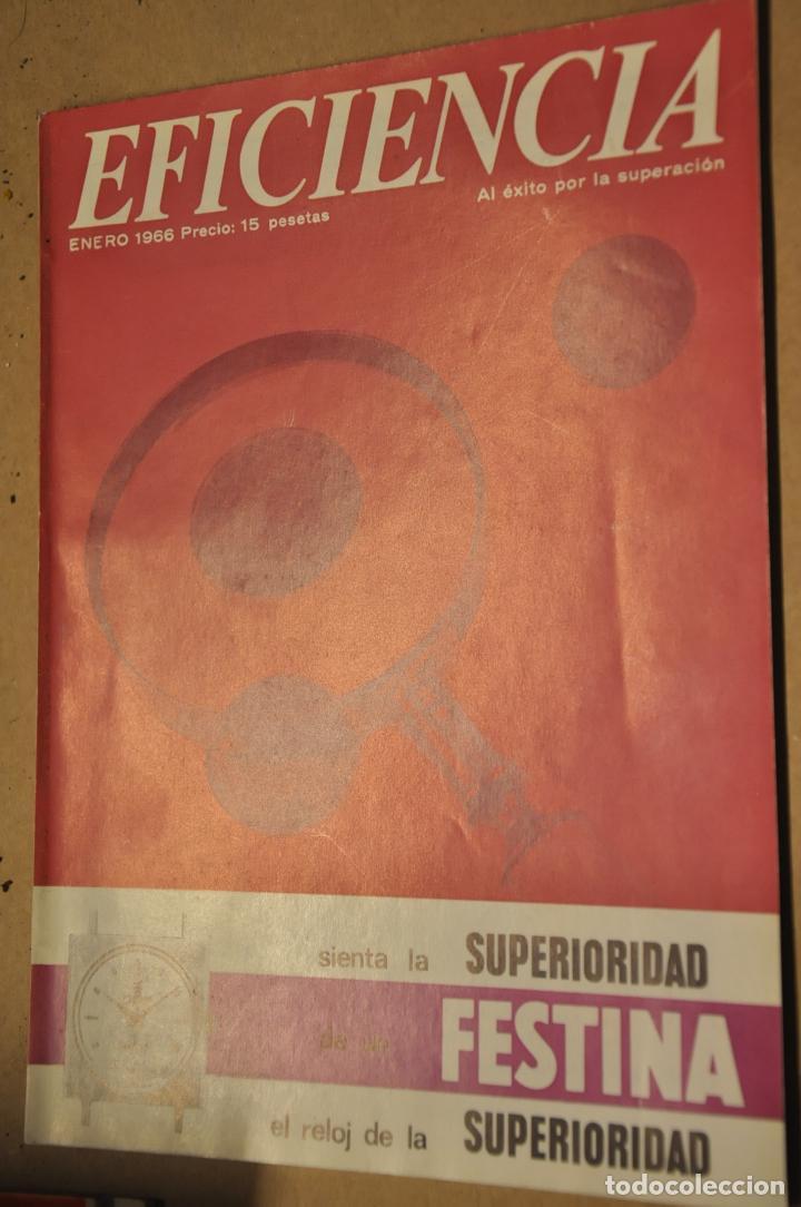 REVISTA EFICIENCIA, ENERO 1966, VER TARIFAS ECONOMICAS ENVIOS (Coleccionismo - Revistas y Periódicos Modernos (a partir de 1.940) - Otros)