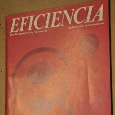 Coleccionismo de Revistas y Periódicos: REVISTA EFICIENCIA, ENERO 1966, VER TARIFAS ECONOMICAS ENVIOS. Lote 148928614