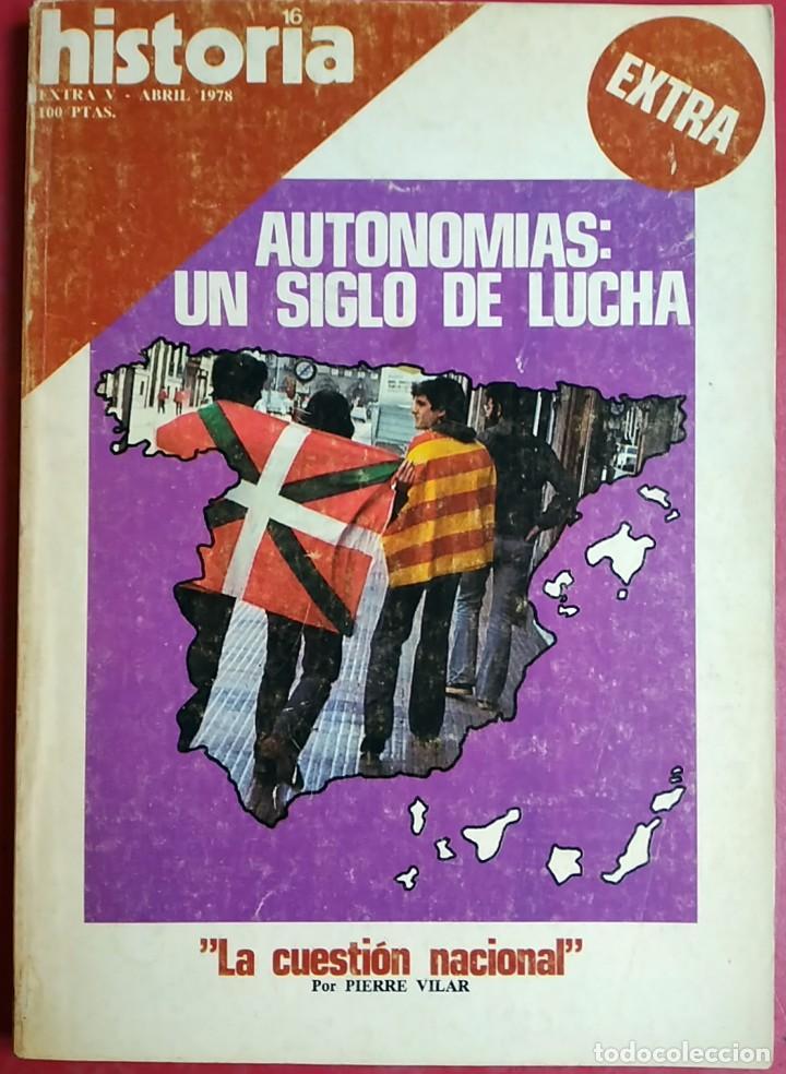 Coleccionismo de Revistas y Periódicos: Lote 5 Revistas Historia 16 - Foto 4 - 148947642