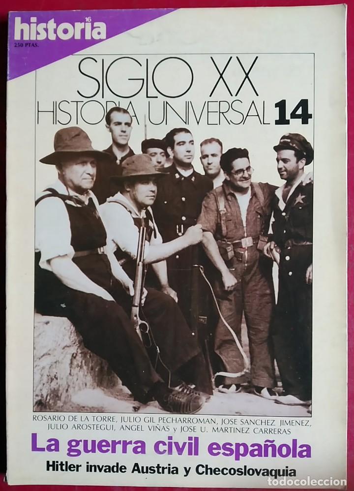 Coleccionismo de Revistas y Periódicos: Lote 5 Revistas Historia 16 - Foto 6 - 148947642