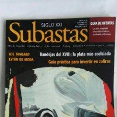 Coleccionismo de Revistas y Periódicos: REVISTA SUBASTAS SIGLO XXI N 88 NOVIEMBRE 2007. Lote 149001604
