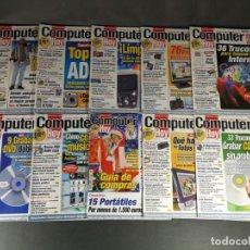 Coleccionismo de Revistas y Periódicos: LOTE 10 NÚMEROS COMPUTER HOY REVISTA INFORMÁTICA 155, 156, 157, 158, 159, 160, 161, 162, 163, 164. Lote 149036550