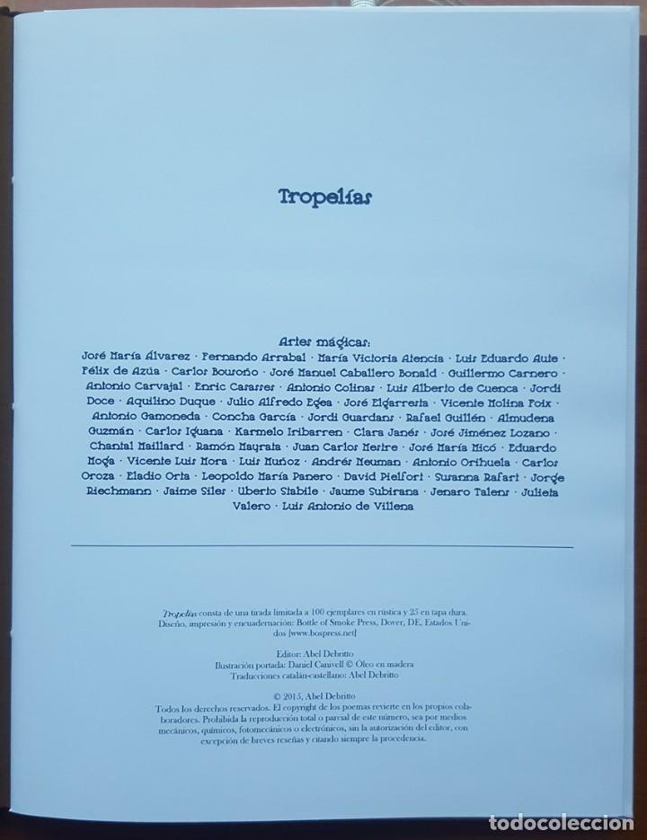 Coleccionismo de Revistas y Periódicos: Tropelías (tapa dura, 2015), con pliego Miró numerado y firmado por Juan Carlos Mestre (23/25) - Foto 2 - 165772872