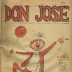 Coleccionismo de Revistas y Periódicos: DON JOSÉ. SEMANARIO DE HUMOR DEL DIARIO ESPAÑA (TANGER). DIRECTOR: MINGOTE. 1955.(RF.MA)B21. Lote 149213274