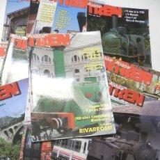 Coleccionismo de Revistas y Periódicos: LOTE 19 REVISTAS HOBBY TREN. Lote 149305866