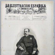 Colecionismo de Revistas e Jornais: LA ILUSTRACIÓN ESPAÑOLA Y AMERICANA, MADRID, AÑO XL, Nº 41, 8 NOVIEMBRE 1896. PP. 257 A 272. Lote 149360654