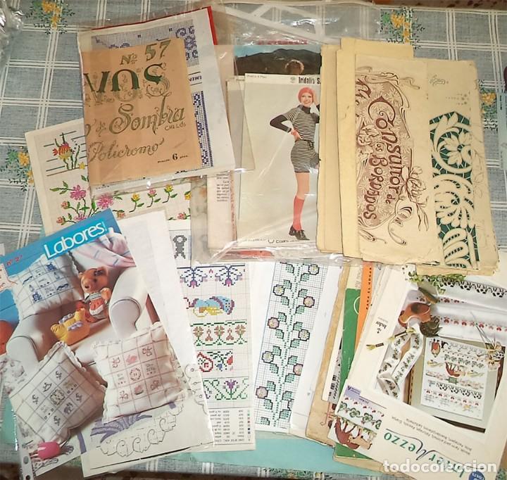 vintage mas de 100 patrones labores ganchillo b - Comprar Otras ...