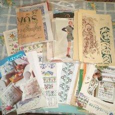 Coleccionismo de Revistas y Periódicos: VINTAGE MAS DE 100 PATRONES LABORES GANCHILLO BORDADO PUNTO CRUZ CROCHET CONSULTOR BORDADOS . Lote 149395674