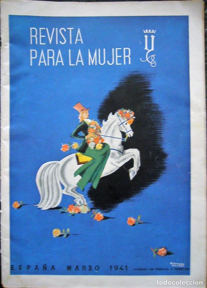 REVISTA PARA LA MUJER AÑO 1941 (Coleccionismo - Revistas y Periódicos Modernos (a partir de 1.940) - Otros)