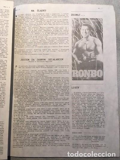 Coleccionismo de Revistas y Periódicos: Przegląd Wiadomości Agencyjnych, n. 3, 20/01/1989 [Samizdat, Polonia, Solidarnośc] - Foto 2 - 149566686