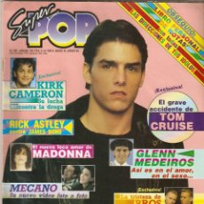 Coleccionismo de Revistas y Periódicos: REVISTA SUPER POP Nº 292 TOM CRUISE, MECANO, MICHAEL JACKSON, THE JACKSONS, MADONNA, SUPERPOP. Lote 149682982