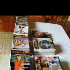 Coleccionismo de Revistas y Periódicos: COLECCIÓN COMPLETA DE LA REVISTA SUBASTAS S.XXI. Lote 149997594