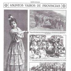 Colecionismo de Revistas e Jornais: 1920 HOJA REVISTA CANTABRIA POTES MONTES DE BEDOYA CAZA DE OSOS BERNALDO DE QUIRÓS GONZÁLEZ HERREROS. Lote 150011942
