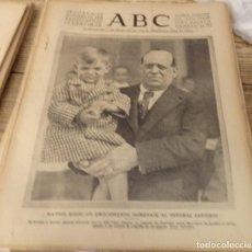 Coleccionismo de Revistas y Periódicos: ABC 21 DE OCTUBRE DE 1939, 14 PAGINAS,HOMENAJE AL GENERAL SANJURJO, ETC.. Lote 150062486
