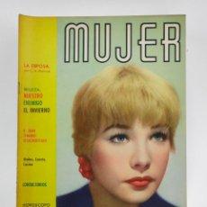 Coleccionismo de Revistas y Periódicos: REVISTA MUJER, SHIRLEY MACLAINE, NÚM. 293, 1961, NOVIEMBRE. 30,5X21,5CM. Lote 150076058