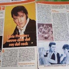 Coleccionismo de Revistas y Periódicos: ELVIS PRESLEY - REVISTA TELE-INDISCRETA 1987. Lote 150091098