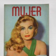 Coleccionismo de Revistas y Periódicos: REVISTA MUJER, ANITA EKBERG, NÚM. 297, 1962, MARZO. 30,5X21,5CM. Lote 150094986