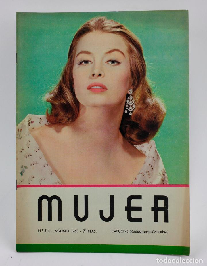 REVISTA MUJER, CAPUCINE, NÚM. 314, 1963, AGOSTO. 30,5X21,5CM (Coleccionismo - Revistas y Periódicos Modernos (a partir de 1.940) - Otros)