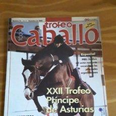Coleccionismo de Revistas y Periódicos: REVISTA TROFEO CABALLO, DICIEMBRE 2000, N°16. Lote 150142754