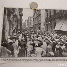 Coleccionismo de Revistas y Periódicos: RECORTE REVISTA ORIGINAL 1915. VICENTE BLASCO IBAÑEZ EN VALENCIA REDACCION EL PUEBLO. Lote 150149694