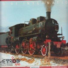 Coleccionismo de Revistas y Periódicos: REVISTA TECNICAS DE MODELISMO FERROVIARIO METROP. Lote 150196122