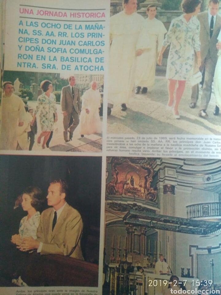 Coleccionismo de Revistas y Periódicos: REVISTA SEMANA 2 AGOSTO 1969.N 1537 .JURA EL CORTES CON PRINCIPE.VITTORIO GASSMAN. VER FOTOS - Foto 3 - 150243065