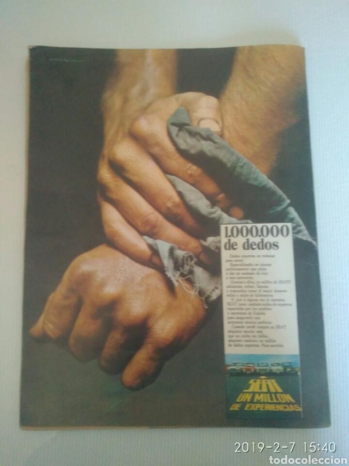 Coleccionismo de Revistas y Periódicos: REVISTA SEMANA 2 AGOSTO 1969.N 1537 .JURA EL CORTES CON PRINCIPE.VITTORIO GASSMAN. VER FOTOS - Foto 4 - 150243065