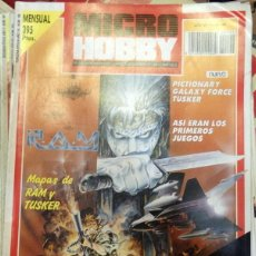 Coleccionismo de Revistas y Periódicos: REVISTA MICRO HOBBY N 196, SIN DEMO. Lote 150275550