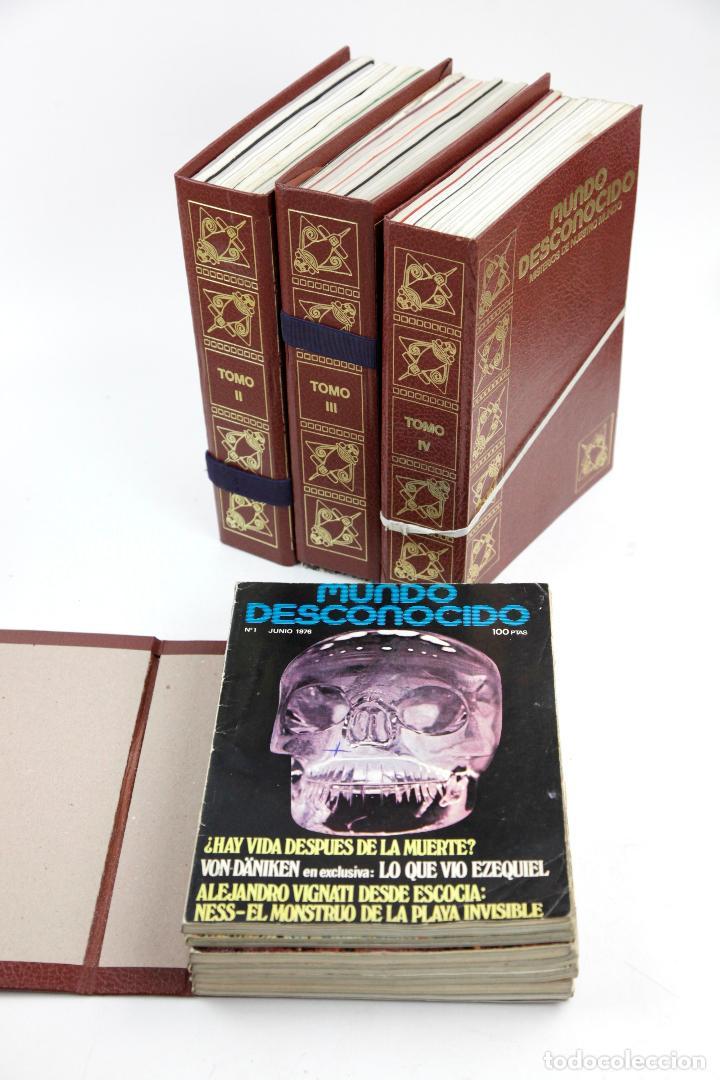 LOTE DE REVISTAS MUNDO DESCONOCIDO, AÑO 1976, DEL NÚMERO 1 AL 35. 24,5X17,5CM (Coleccionismo - Revistas y Periódicos Modernos (a partir de 1.940) - Otros)