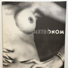 Coleccionismo de Revistas y Periódicos: REVISTA METRÒNOM. NÚMERO 2. BARCELONA. GENER 1985. REVISTA DE ARTE.. Lote 150538786