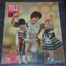 Coleccionismo de Revistas y Periódicos: TELE RADIO 282 TELERADIO 20-26 MAYO 1963. Lote 150590092