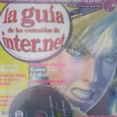 Coleccionismo de Revistas y Periódicos: CDROM Y REVISTA LA GUIA DE LOS CONTENIDOS DE INTERNET CON LAS MEJORES 20000 WEBS. Lote 150699118