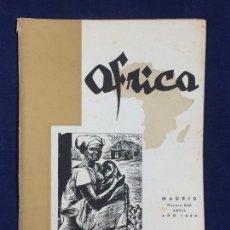 Collezionismo di Riviste e Giornali: REVISTA ÁFRICA MADRID Nº 208 ABRIL AÑO 1959. Lote 150735074