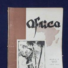 Collezionismo di Riviste e Giornali: ANTIGUA REVISTA ÁFRICA MADRID Nº 125 MAYO AÑO 1952. Lote 150738126