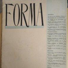 Coleccionismo de Revistas y Periódicos: FORMA REVISTA DE ENSEÑANZA N 2 1953 GRANADA. Lote 150738318