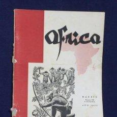 Collezionismo di Riviste e Giornali: ANTIGUA REVISTA ÁFRICA MADRID Nº 122 FEBRERO AÑO 1952. Lote 150739446