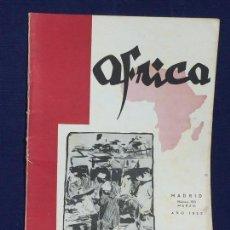 Collezionismo di Riviste e Giornali: ANTIGUA REVISTA ÁFRICA MADRID Nº 123 MARZO AÑO 1952. Lote 150740522
