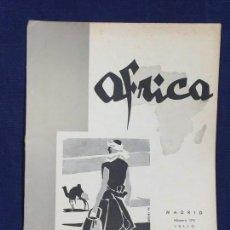 Collezionismo di Riviste e Giornali: REVISTA ÁFRICA MADRID Nº 175 JULIO AÑO 1956. Lote 150744254