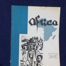 Collezionismo di Riviste e Giornali: ANTIGUA REVISTA FUNDADA POR FRANCISCO FRANCO ÁFRICA Nº 212 213 AGOSTO SEPTIEMBRE MADRID AÑO 1959. Lote 150747206