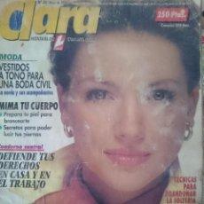 Coleccionismo de Revistas y Periódicos: CLARA N 94 MAYO 1994 - PORTADA EN MAL ESTADO. Lote 150749834