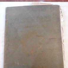 Coleccionismo de Revistas y Periódicos: ACTUALIDADES,SEMINARIO ILUSTRADO.DOS TOMOS INCOMPLETOS. CON SEÑALES DE USO.. Lote 150756406