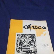 Collezionismo di Riviste e Giornali: ANTIGUA REVISTA ÁFRICA DIRIGIDA POR FRANCISCO FRANCO Nº 229 ENERO AÑO 1961. Lote 150757478