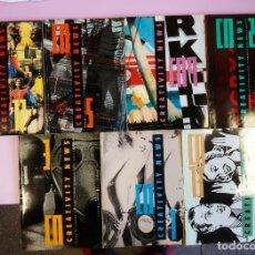Coleccionismo de Revistas y Periódicos: 7 NÚMEROS DE LA REVISTA CREATIVITY NEWS. Lote 150785134